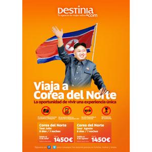 Destinia te lleva a Corea del Norte